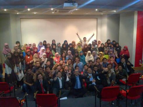 Peserta, Fasilitator, dan Trainer Red Carpet of Success