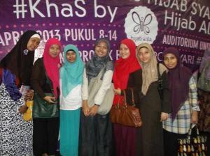 """Peserta Khas """"Komunitas Hijab Syar'i"""""""